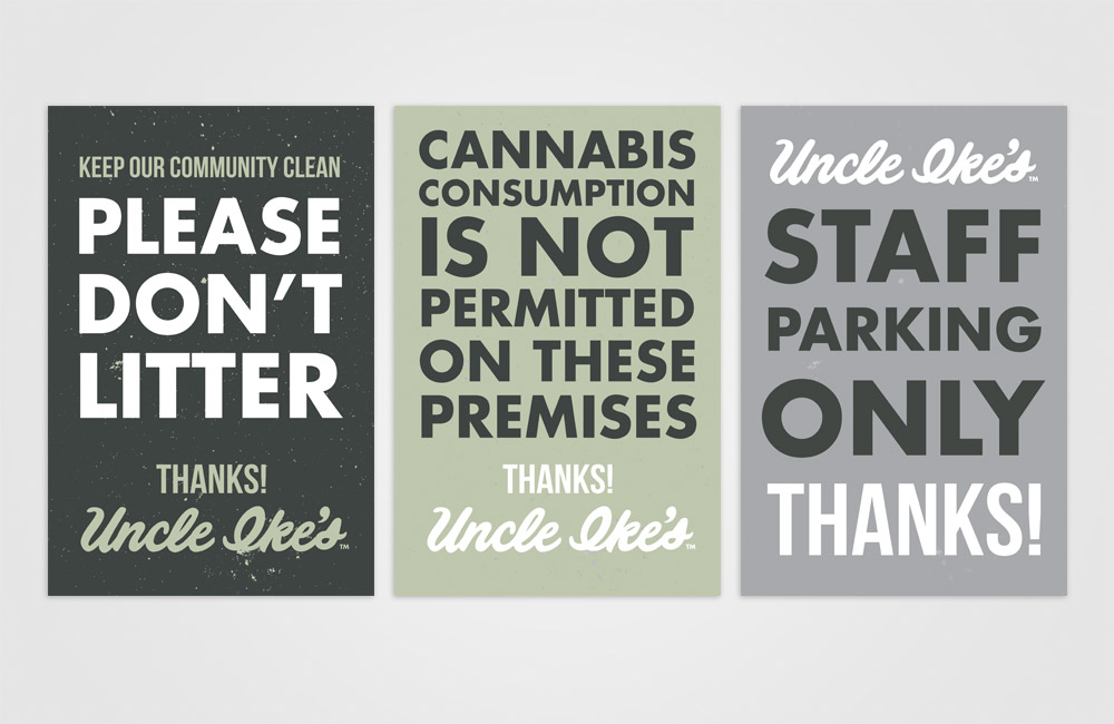 Cannabis Retailer Signage